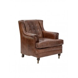 Browning Leather Armchair