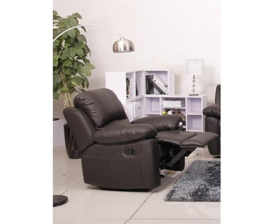 Elswick Brown leather recliner Chair