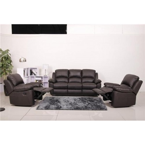 Elswick Leather Recliner Set