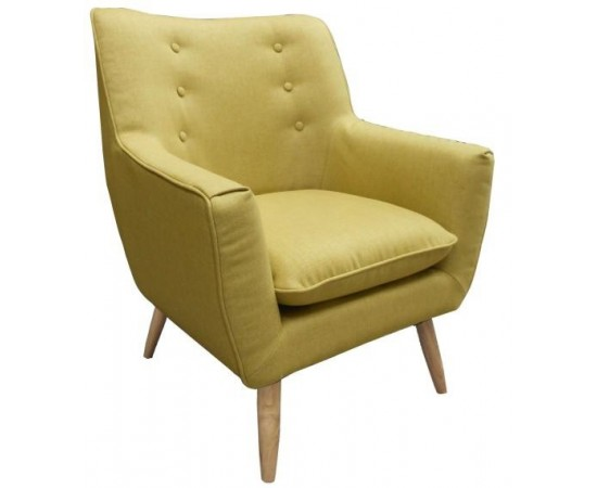 Rertro Occasional Fabric Chair
