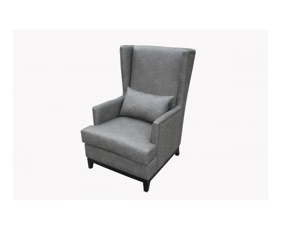 Luxury PU Leather Armchair
