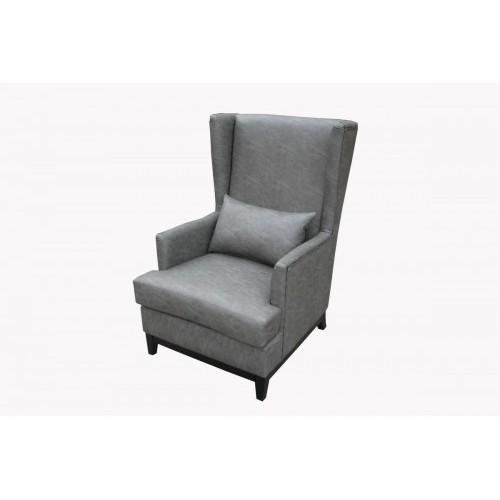 Luxury PU Leather Armchair