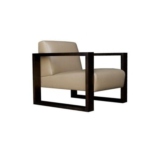 Eden Leather Modern Chair
