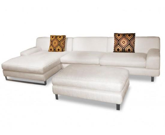 Fabbrica Rotterdam Chaise Lounge With Ottoman