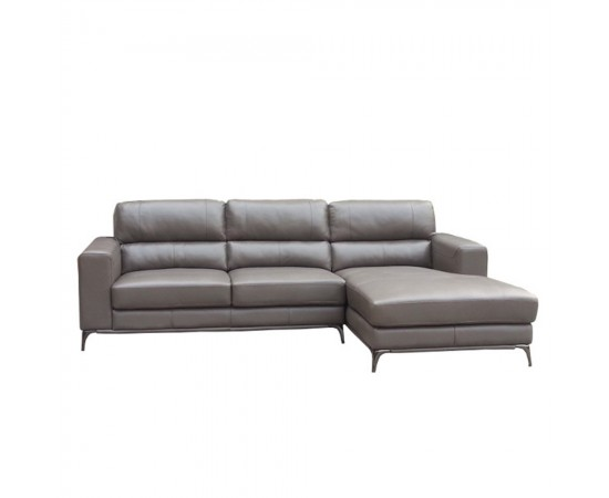 Carrington 2.5 Seater Leather Chaise